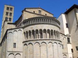 Arezzo Pieve S Maria by Wikipedia