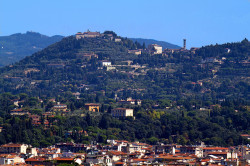 Accommodation in Florence_View of Fiesole