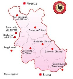 Map Chianti