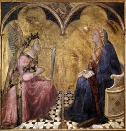 Lorenzetti  Annunciation Siena