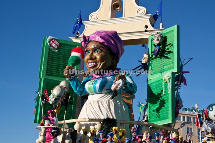 Viareggio carnival 2013