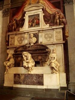 450px-9903_-_Firenze_-_Santa_Croce_-_Tomba_di_Michelangelo_-_Foto_Giovanni_Dall'Orto,_28-Oct-2007