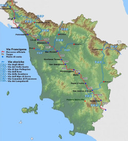via francigena map
