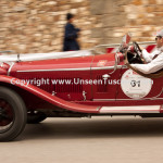 Historical Race Mille Miglia cars