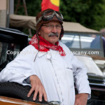 Historical Race Mille Miglia driver