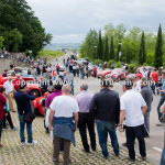 Historical Race Mille Miglia crowd