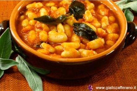 Italian Recipes Fagioli Alluccelletto Beans Unseentuscany