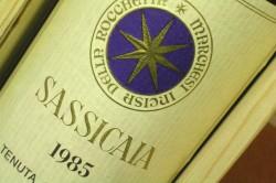 Bolgheri Wine: Sassicaia 1985