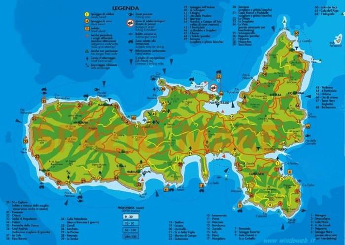 elba map big