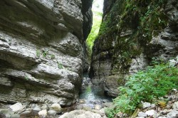 trekking in tuscany butri canyon