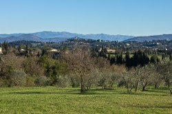 Accommodation in Florence_View of Florentine hills