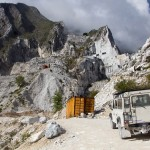 Carrara marble cave tour