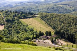 Radda in Chianti surroundings