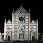 Santa Croce square by night