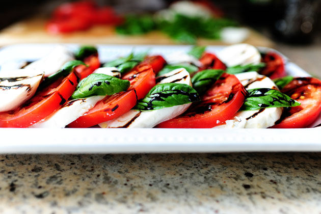 caprese salad italian insalata caprese meaning salad of capri is a ...