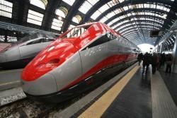 Kelionės traukiniais Italijoje. FrecciaRossa