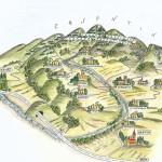 Casentino map