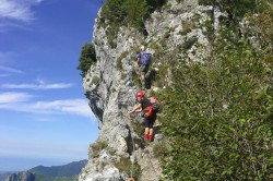 Via Ferrata Tuscany Aristide Bruni