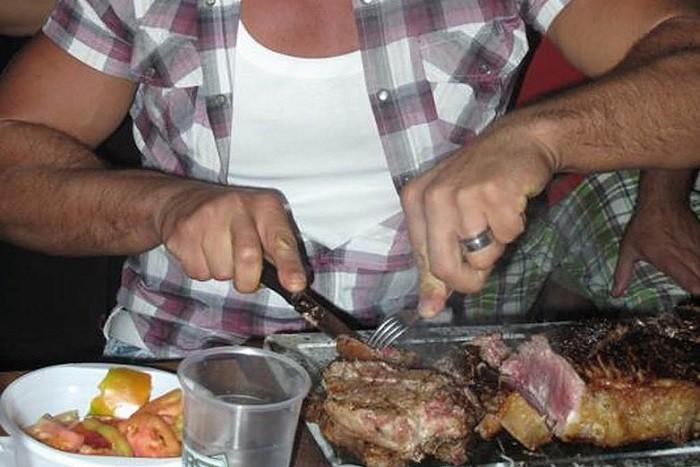 sfida della bistecca