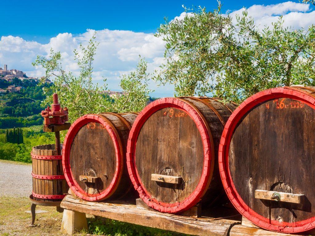Vasara Chianti: vyno degustacijos ir kitos pramogos