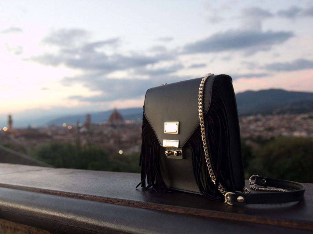 "Italian Leather Bags by ""Livia Lippi Florence"""