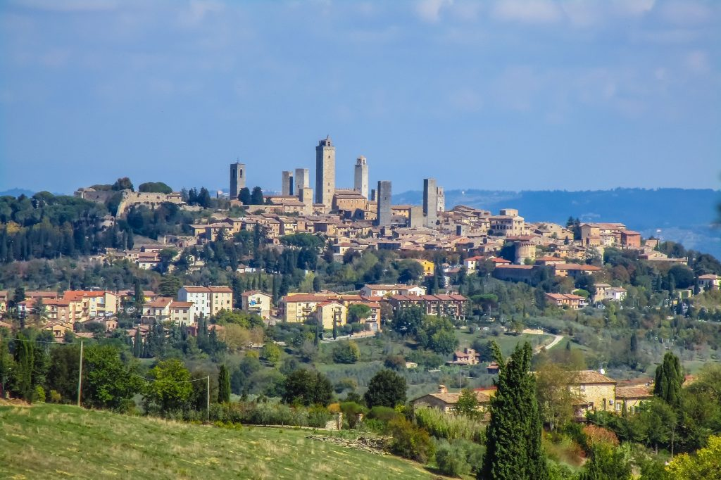 Day trip from Florence: San Gimignano & Siena