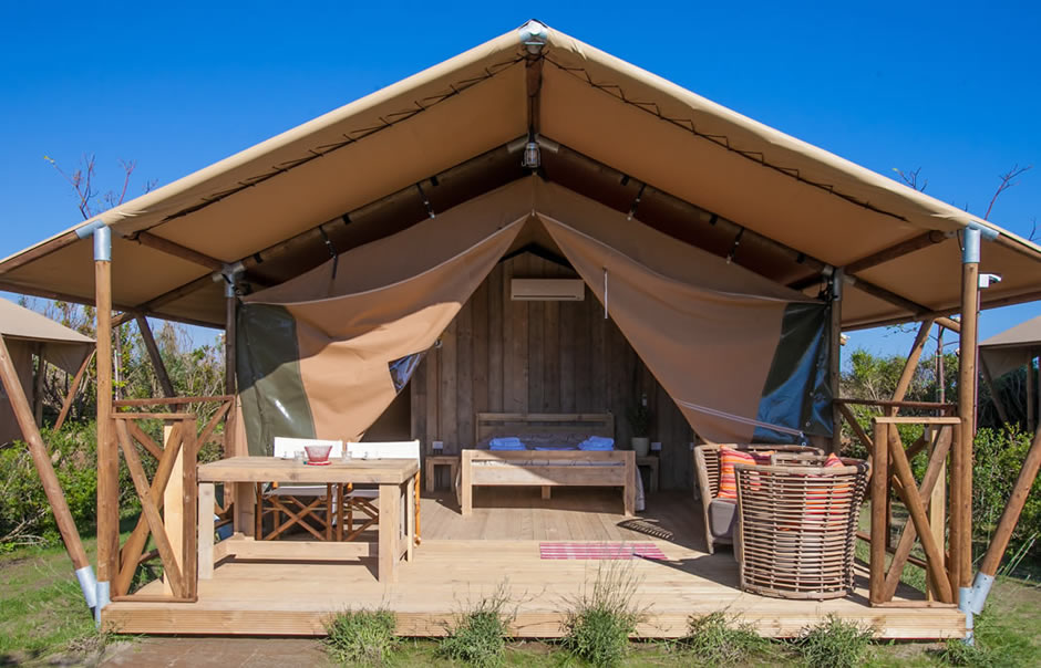 Glamping in Tuscany